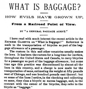 What is Baggage?