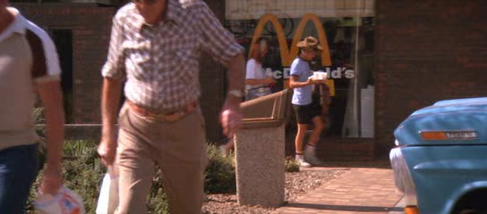 Hey, let's stop at McDonald's.